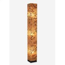 (LS) Valentti Square Std Lamp (L) (8x8x65)