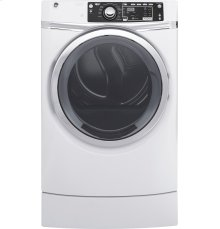 GE® 8.3 cu. ft. Capacity RightHeight™ Front Load Electric ENERGY STAR® Dryer with Steam***FLOOR MODEL CLOSEOUT PRICING***