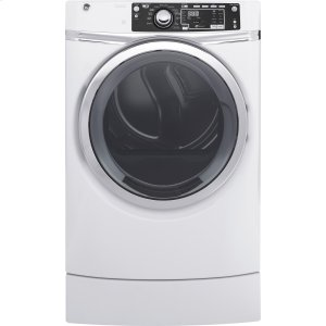 GE ®8.3 Cu. Ft. Capacity Rightheight™ Front Load Gas Energy Star® Dryer With Steam