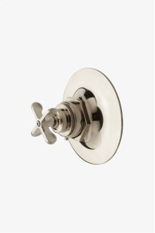 Henry Thermostatic Control Valve Trim with Metal Cross Handle STYLE: HNTH01