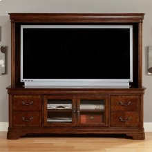 Entertainment Hutch Top (RTA)