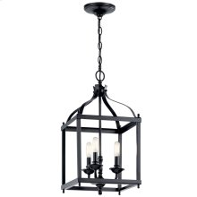 Larkin 3 Light Pendant Black