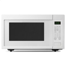 2.2 Cu. Ft. Countertop Microwave with Add :30 Seconds Option - white