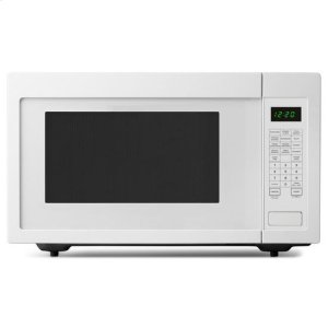 2.2 Cu. Ft. Countertop Microwave with Add :30 Seconds Option - white - WHITE