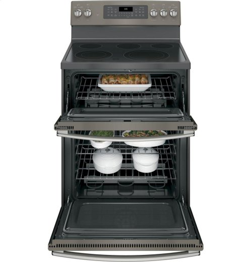 """SCRATCH & DENT- GE® 30"""" Free-Standing Electric Double Oven Convection Range"""