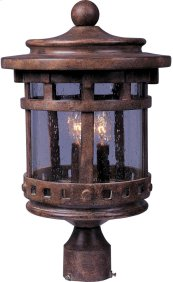 Santa Barbara VX 3-LT Outdoor Pole Lantern