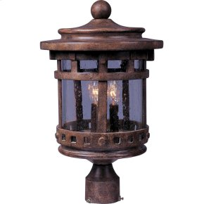 Santa Barbara VX 3-LT Outdoor Pole Lantern