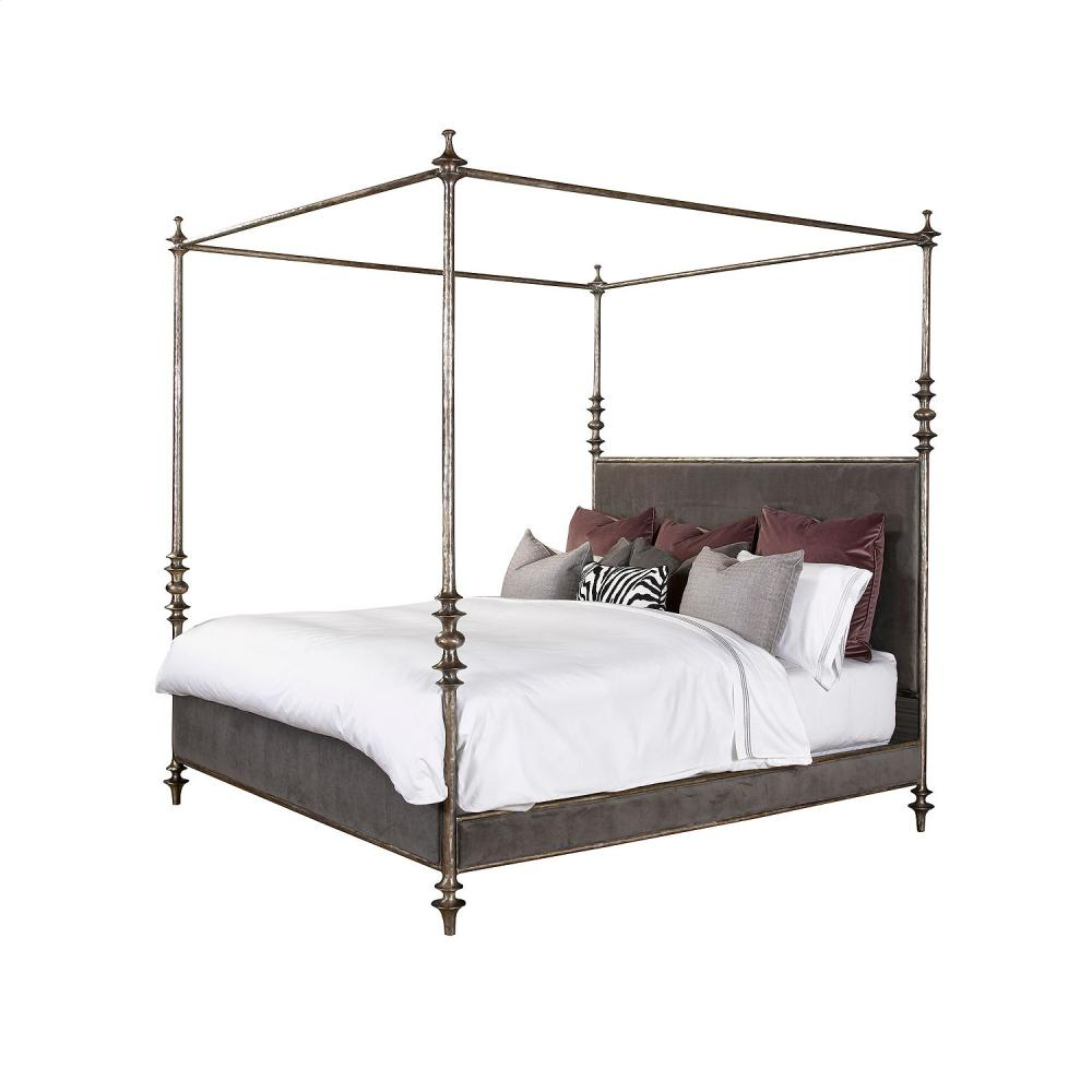 lafayette metal canopy bed king