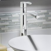 Berwick Vessel Sink Faucet  Without Drain  American Standard - Polished Chrome