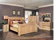 King Arch Panel Bed Product Image