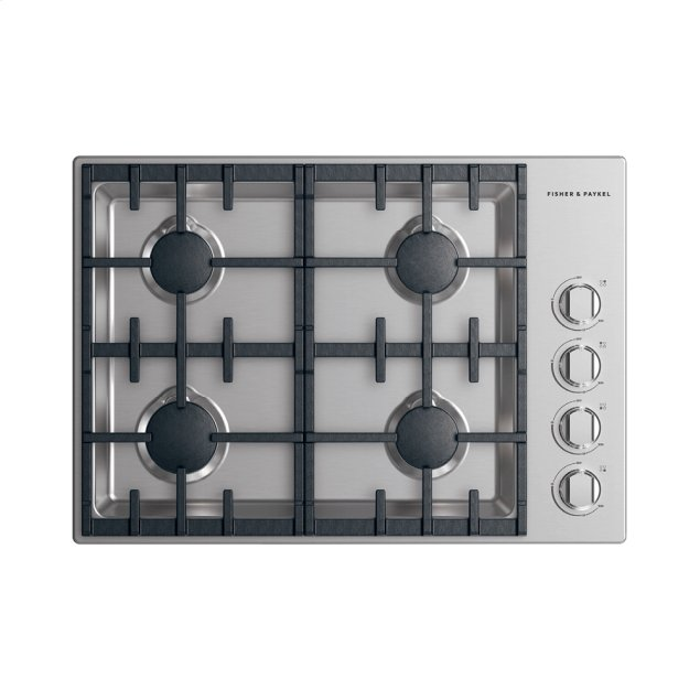 """Fisher & Paykel Gas Cooktop, 30"""""""