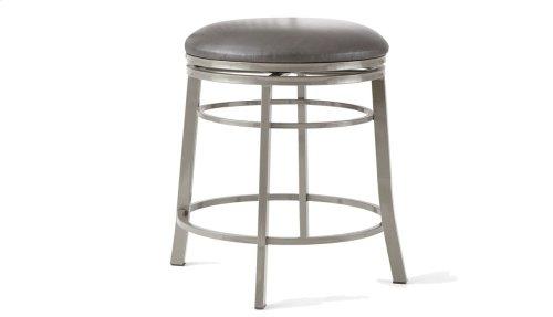 "Milo Backless Swivel Bar Chair 17.5""x17.5""x30"""