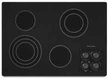 """4 Elements Traditional Black Ceramic Glass Surface Electric 30"""" Width Architect® Series II"""