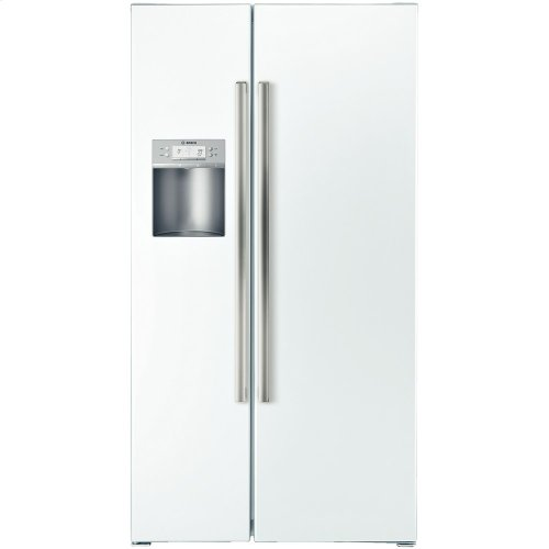 Counter Depth Side by Side Refrigerator 500 Series - White