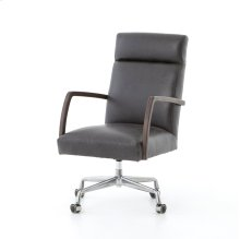 Chaps Ebony Cover Bryson Desk Chair