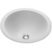 Drop-in washbasin (round) Round - White Alpin