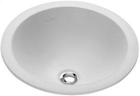 Drop-in washbasin (round) Round - White Alpin CeramicPlus