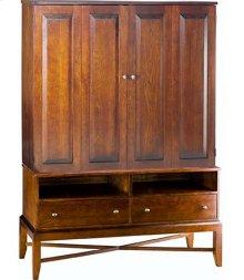 Talmadge Media Cabinet w/ Bi-Fold Doors