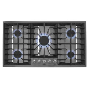 WHIRLPOOLGold(R) 36-inch Gas Cooktop with Recessed Grate Design