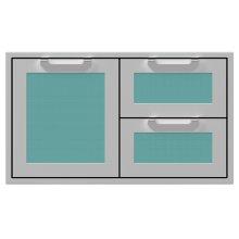 """36"""" Hestan Outdoor Combo Door/Drawer - AGSDR Series - Bora-bora"""