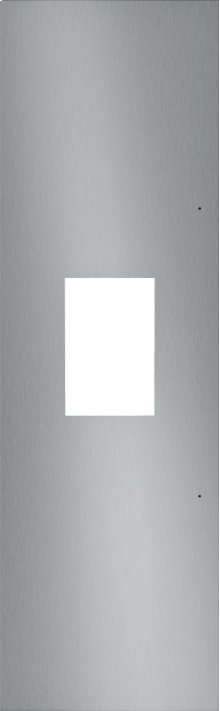 "24"" Stainless Steel Panel for External Dispenser - Flat TFL24ID800"