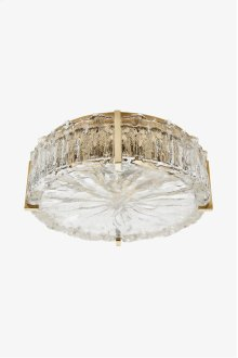 Marlon Ceiling Flush Mount with Glass Shade STYLE: MNLT05