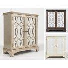 "Casa Bella 32"" Accent Cabinet- Vintage Silver Product Image"