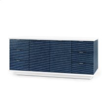 Cosmopolitan 6-Drawer & 2-Door Cabinet, Navy Blue
