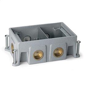 880CS2-1 - Omnibox Series Cast-Iron Floor Box