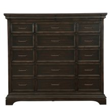 Caldwell 17 Drawer Master Chest