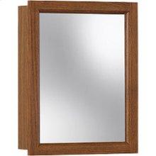 "15""W x 19""H - Honey Oak Wood Cabinet"