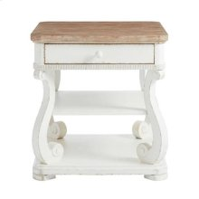 Juniper Dell End Table 17th Century White