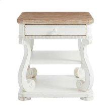 Juniper Dell End Table 17th Century White