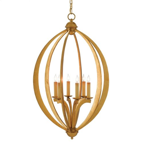 Bella Luna Gold Large Chandelier
