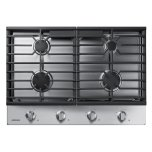 "Samsung30"" Gas Cooktop in Stainless Steel"
