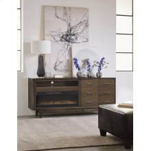 "Newport 84"" Fireplace Console"