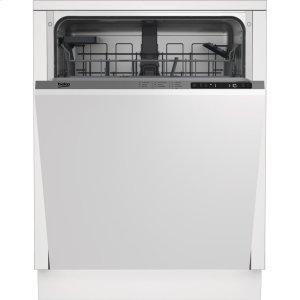 Beko24 Panel Ready, Tall Tub, Top Control Dishwasher