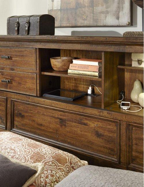 Queen Bookcase Headboard