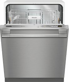 G 4998 Vi SF AM Fully-integrated, full-size dishwasher with hidden control panel, cutlery basket and CleanTouch Steel panel