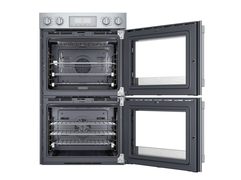 Thermador 30 Inch Professional Double Wall Oven With Right Side Opening Door