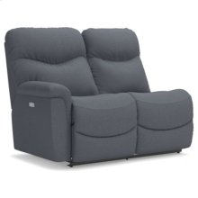 James Power Right-Arm Sitting Reclining Loveseat