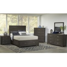 Altamonte Queen 4pc Set- Bed, Dresser, Mirror, Nightstand