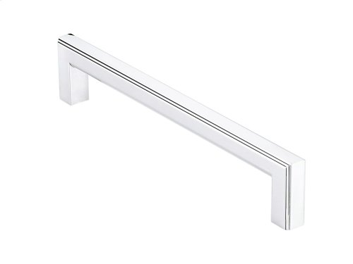 Stepped-edge Rectilinear Cabinet pull with rounded back