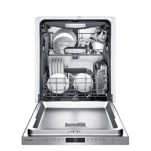 800 Series built-under dishwasher 24'' Stainless steel SHPM78W55N