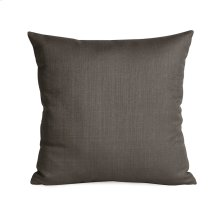 """16"""" x 16"""" Pillow Sterling Charcoal"""