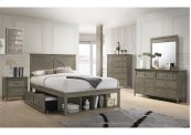 3016 Ashland Full Bed with Dresser & Mirror