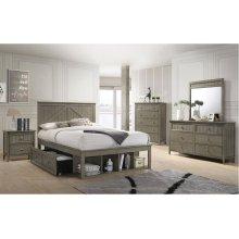 3016 Ashland Full Bed with Dresser & Mirror