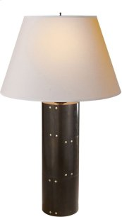 Visual Comfort AH3034GM-NP Alexa Hampton Yul 30 inch 40 watt Gun Metal with Wax Decorative Table Lamp Portable Light