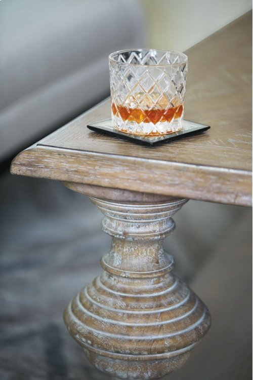 Campania Cocktail Table in Campania Weathered Sand (370)