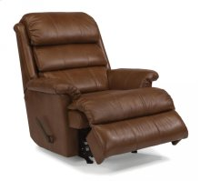 Yukon Leather Swivel Gliding Recliner
